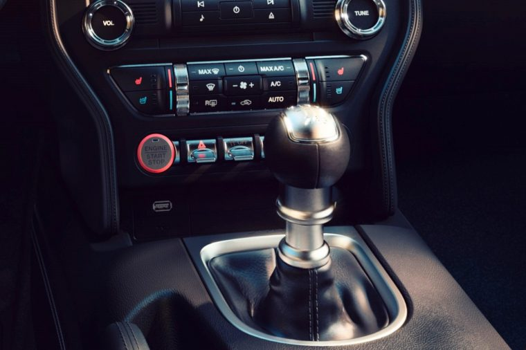 2018 Ford Mustang Start Button