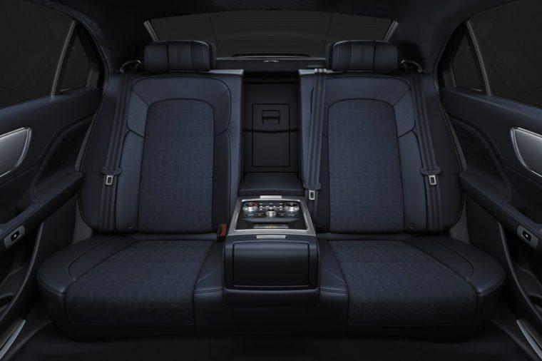 2017 Lincoln Continental rear