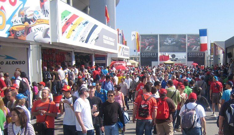2008 Spanish Grand Prix Crowd