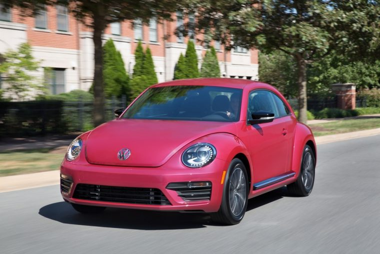 2016 2017 Volkswagen Beetle Bug Pink model overview women package performance