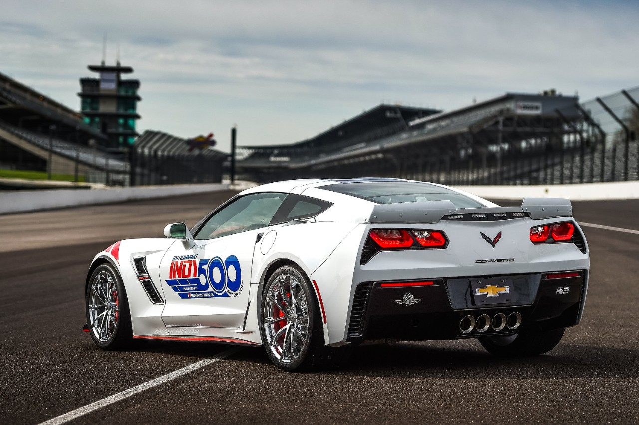 Chevy Corvette Race Car