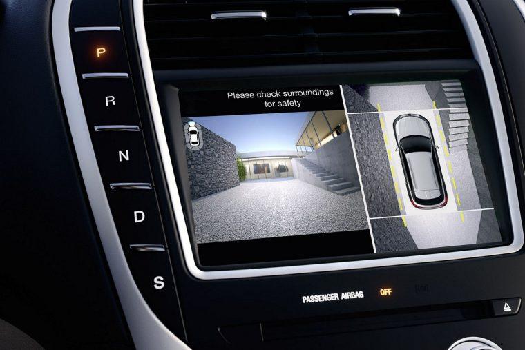 2017 Lincoln MKX interior