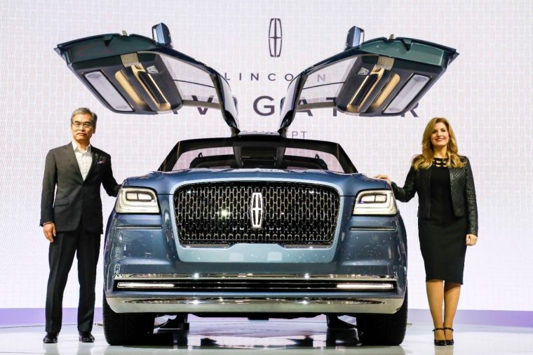 2017 Lincoln Navigator Concept Seoul Motor Show