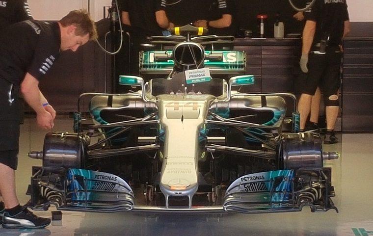 2017 Mercedes-AMG W08 F1 Car