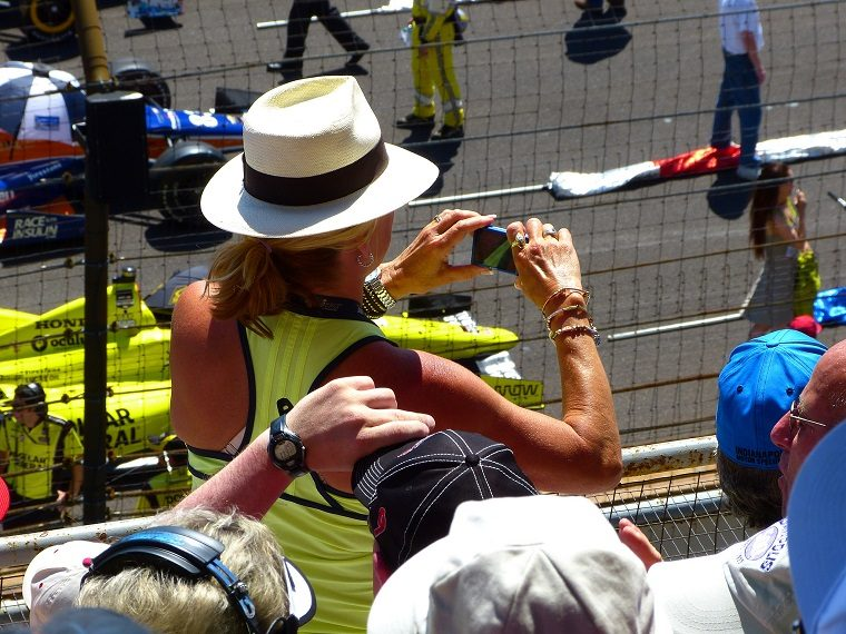 Fan Recording 2014 Indy 500