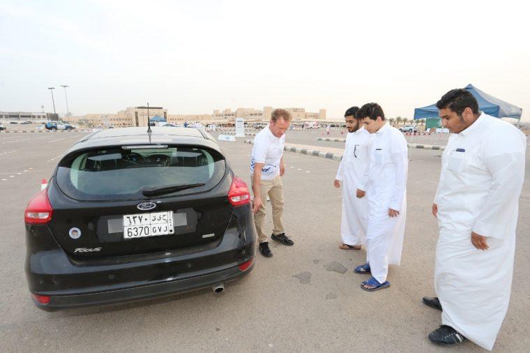 Ford Driving Skills for Life Saudi Arabia Focus