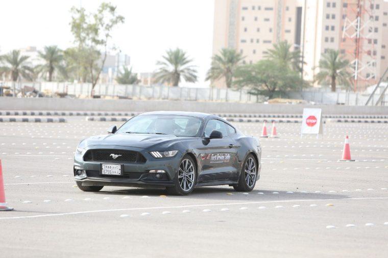 Ford Driving Skills for Life Saudi Arabia Mustang