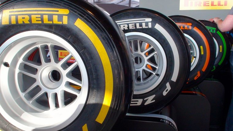 Formula 1 Pirelli Tires