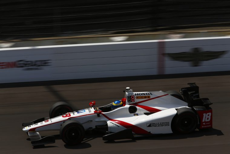 Sebastien Bourdais led the way as Honda drivers captured the top four positions, and 11 of the top 12, in practice for next weekend's Indianapolis 500.