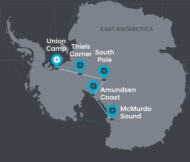 hyundai santa fe makes history by helping intrepid adventurers cross the antarctic the news wheel. Black Bedroom Furniture Sets. Home Design Ideas