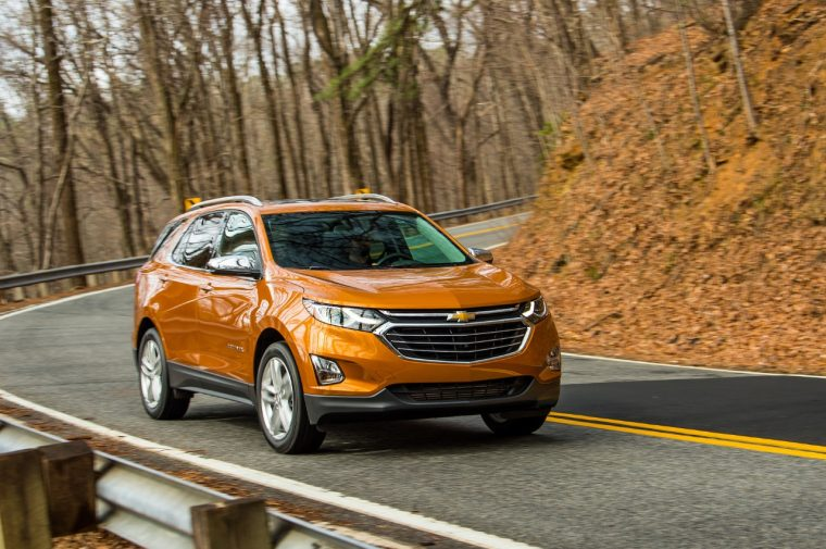 The all-new redesigned 2018 Chevy Equinox crossover SUV
