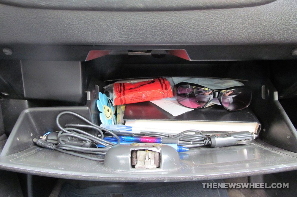 car glove compartment box storage contents origin history