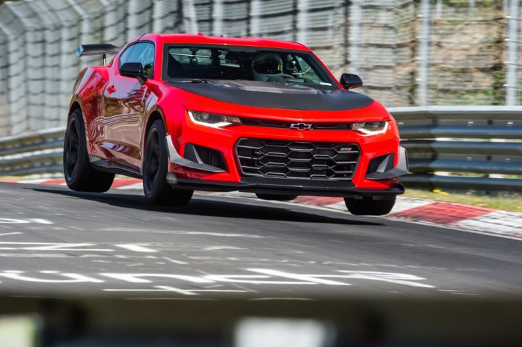 2018 Chevy Camaro ZL1 1LE becomes fastest Camaro at the Nurburgring