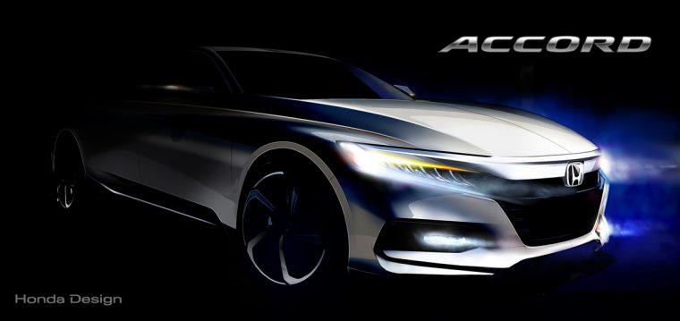 2018 Honda Accord Concept Sketch