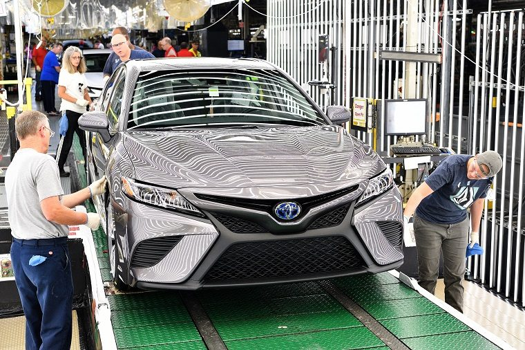 2018 Toyota Camry Assembly Line