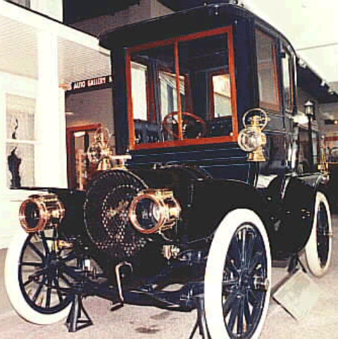 HH Franklin gas engine automobile