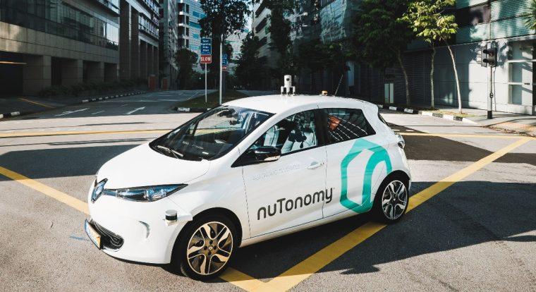 nuTonomy car