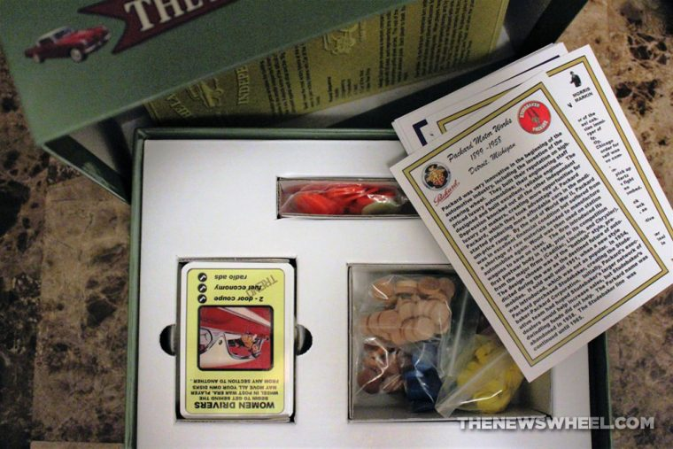 Last of the Independents car history board game review Numbskull picture contents components