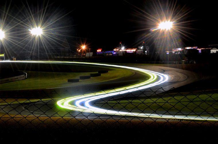 Le Mans Light Trails