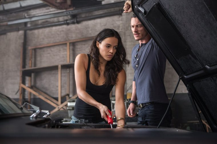 Michelle Rodriguez in Furious 6