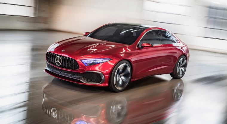 The Mercedes Benz A Class Is Set To Arrive In America Next Year