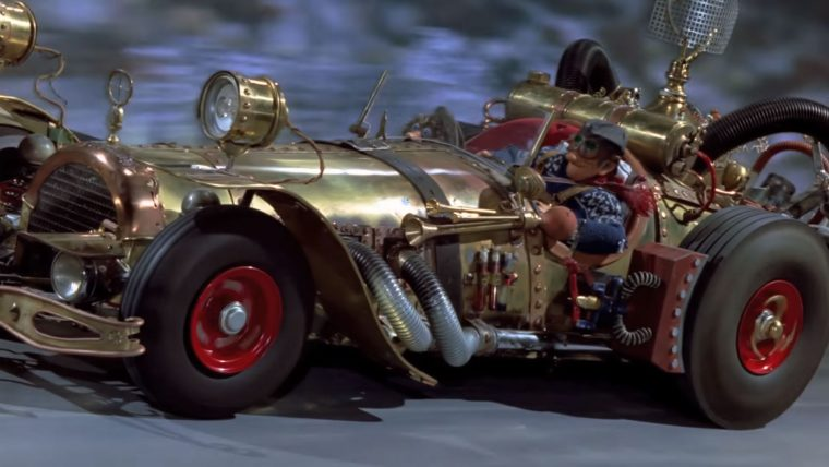 Pinchcliffe Grand Prix stop motion animated International Foreign Films About Cars Racing movie