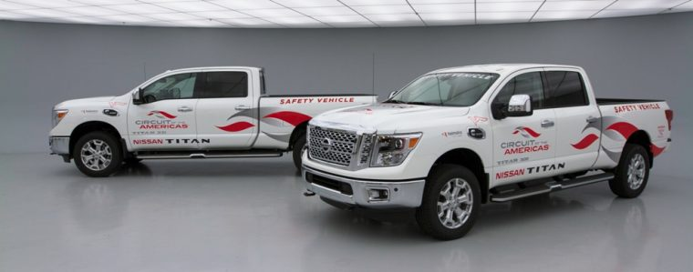 Nissan selected as Official Truck of the Circuit of The Americas