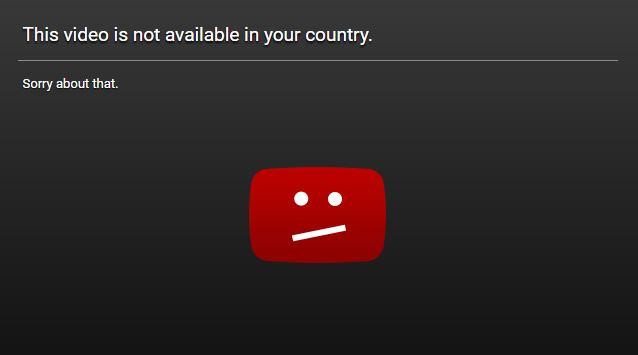 This Video is Not Available in Your Country