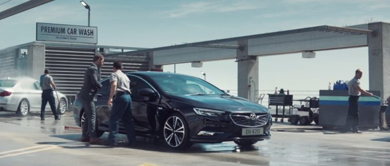 Vauxhall Insignia commercial