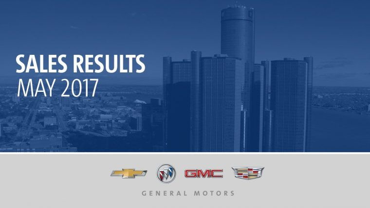 General Motors May 2017 sales