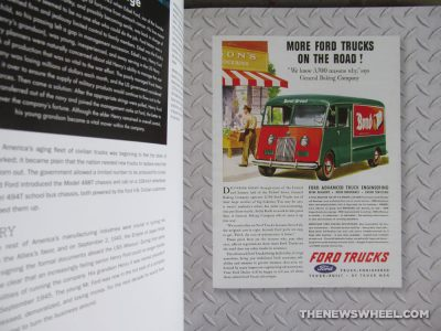Ford Tough 100 Years of Ford Trucks book review Patrick Foster automotive vehicle car history Motorbooks advertisement buy