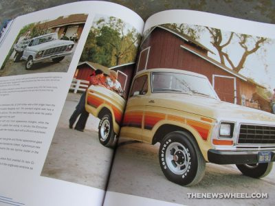 Ford Tough 100 Years of Ford Trucks book review Patrick Foster automotive vehicle car history Motorbooks pages