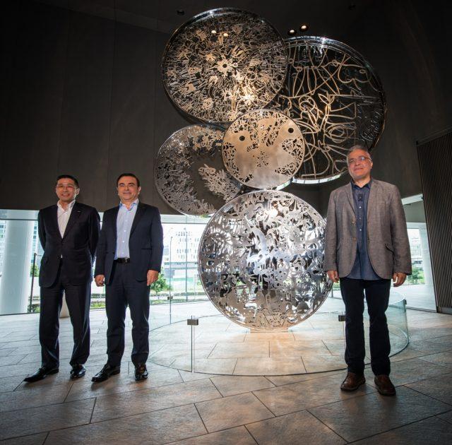 """Wheels of Innovation"" at Nissan HQ"