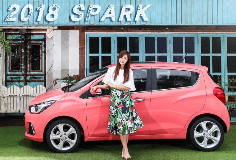 2018 Chevrolet Spark with model