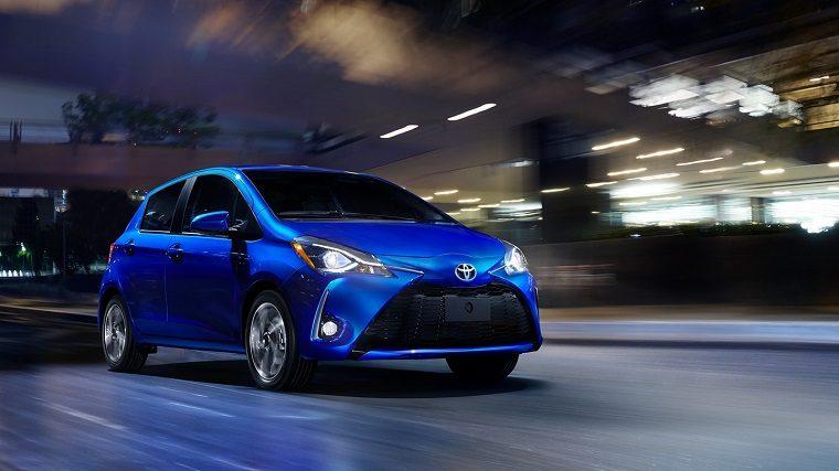 2018 Toyota Yaris exterior