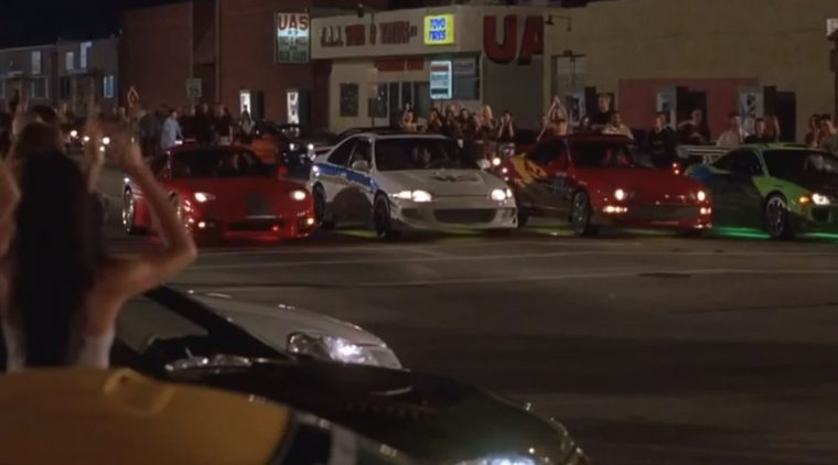 Best Car Movies Ever Top Automotive Films List scene Fast and the furious