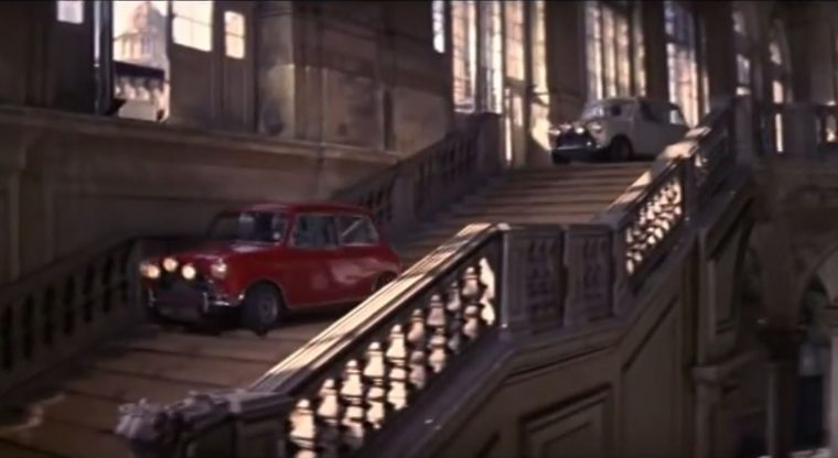 Best Car Movies Ever Top Automotive Films List scene The Italian Job MINI cooper