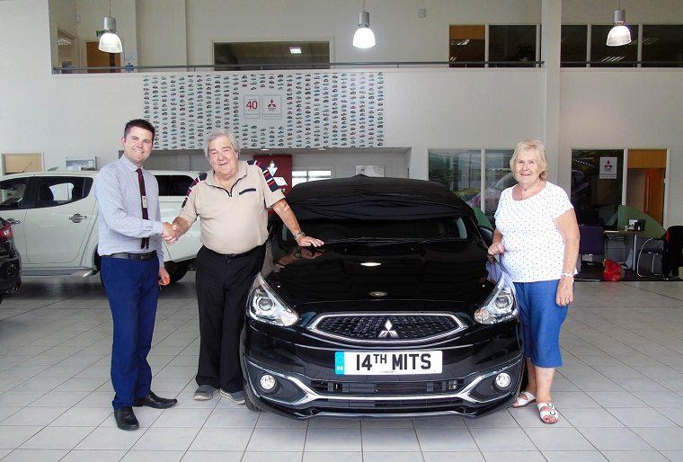 Cliff Hodson Buys 14th Mitsubishi