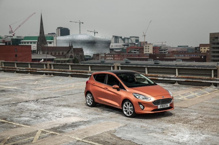 New Ford Fiesta port of Dover