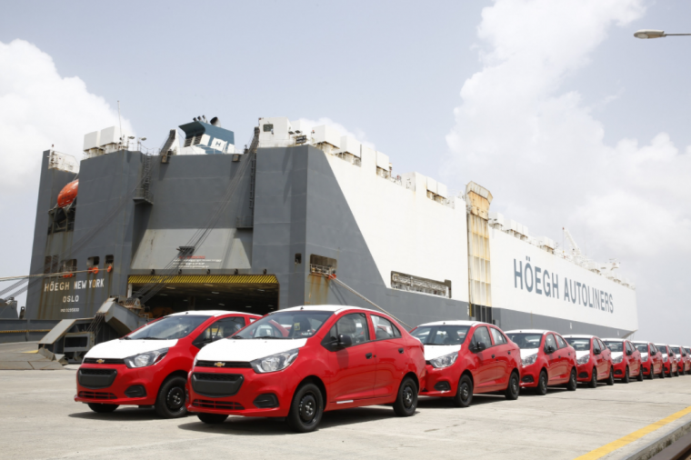 GM India starts shipping Chevy Beat sedan to Latin America