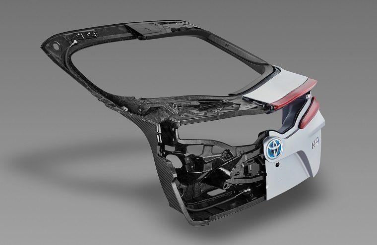 Prius Prime Carbon Fiber Liftgate