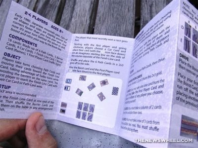 Rob Cramer Turbo Drift Card Game Pocket Car Racing instructions