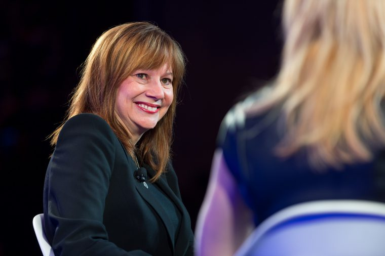 GM CEO Mary Barra ranked second on Fortune 2018 Most Powerful Women list
