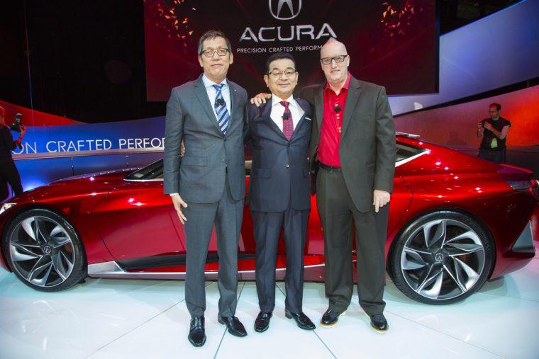 Takahiro Hachigo Acura Precision Concept