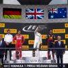 Vettel, Hamilton & Ricciardo on the podium