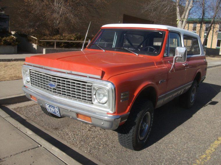 1972 Chevrolet K10 Blazer