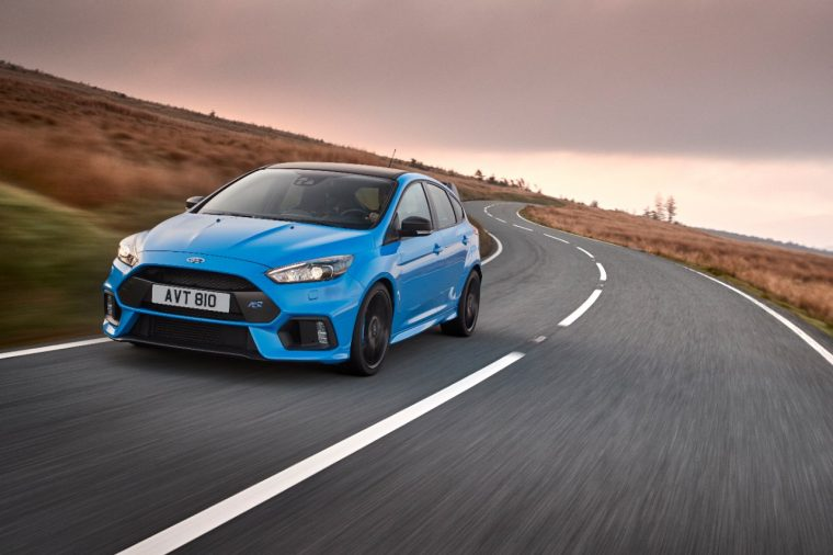 2017 Ford Focus RS Options Pack