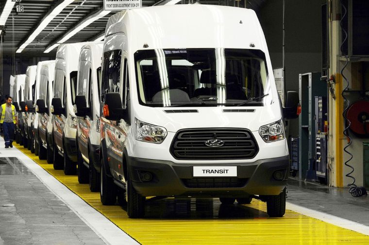 Ford Transit built in Kocaeli