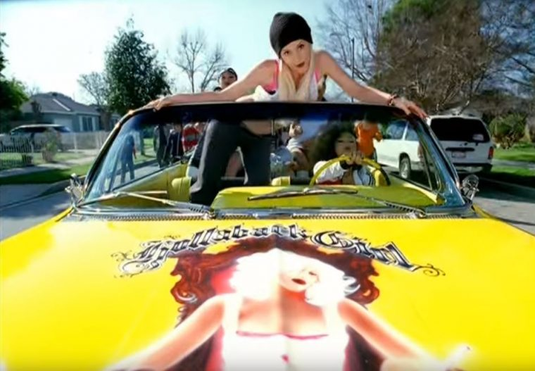 Gwen Stefani Hollaback Girl 1961 Yellow Chevrolet Impala Convertible