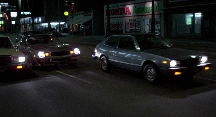 Honda Accord Fast Times at Ridgemont High